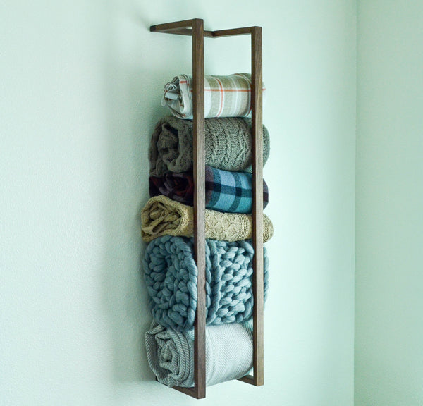 Iron Roots Design - Blanket Wall Rack - Einhorn Homewares