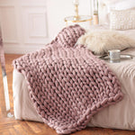Handmade Chunky Knit Blankets - 7 Colours, 9 Sizes - Einhorn Homewares