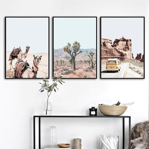 Desert Wall Art Canvas Prints - Einhorn Homewares