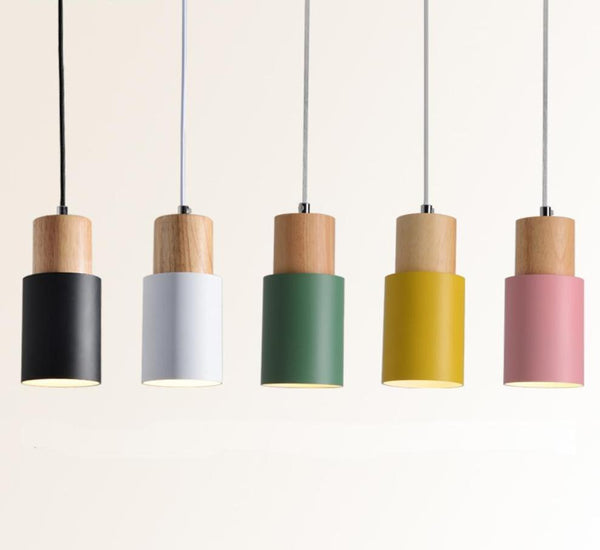 Designer Nordic Wood Pendant Lights - Einhorn Homewares