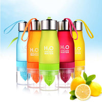 H2O Fruit Infuser Water Bottle 650ml (22oz) - Einhorn Homewares