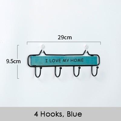 I Love My Home Rustic Wall Hooks - Einhorn Homewares