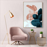 Leaf Wall Prints on Canvas - Einhorn Homewares