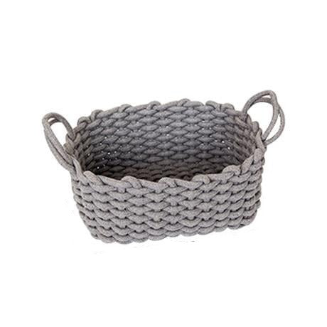 Linen Rope Storage or Laundry Basket - Einhorn Homewares