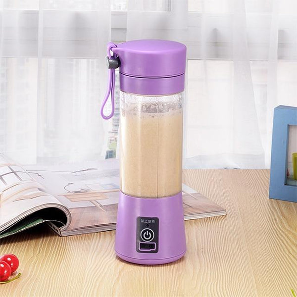 Portable Blender - 4 Colours, USB-Chargeable 380ml (12.8oz) - Einhorn Homewares