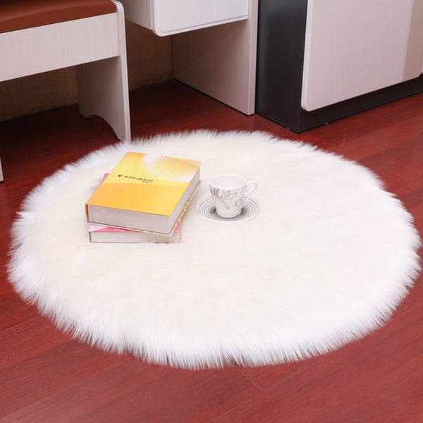 Round Faux Fur Rug - 9 colours & 9 sizes - Einhorn Homewares