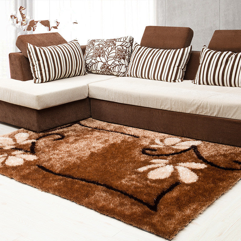 Modern Shaggy Dyed Carpets For Living Room Home Bedroom Rugs And Carpets  Coffee Table Area Rug bape Runner Large Floor Mat
