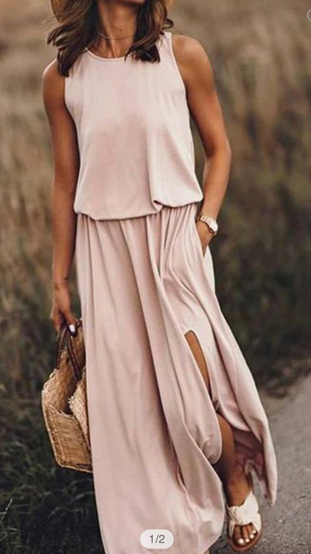 SOOTHING THOUGHTS BLUSH | DRESS