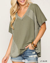 Load image into Gallery viewer, OLIVE MIX KNIT | TOP