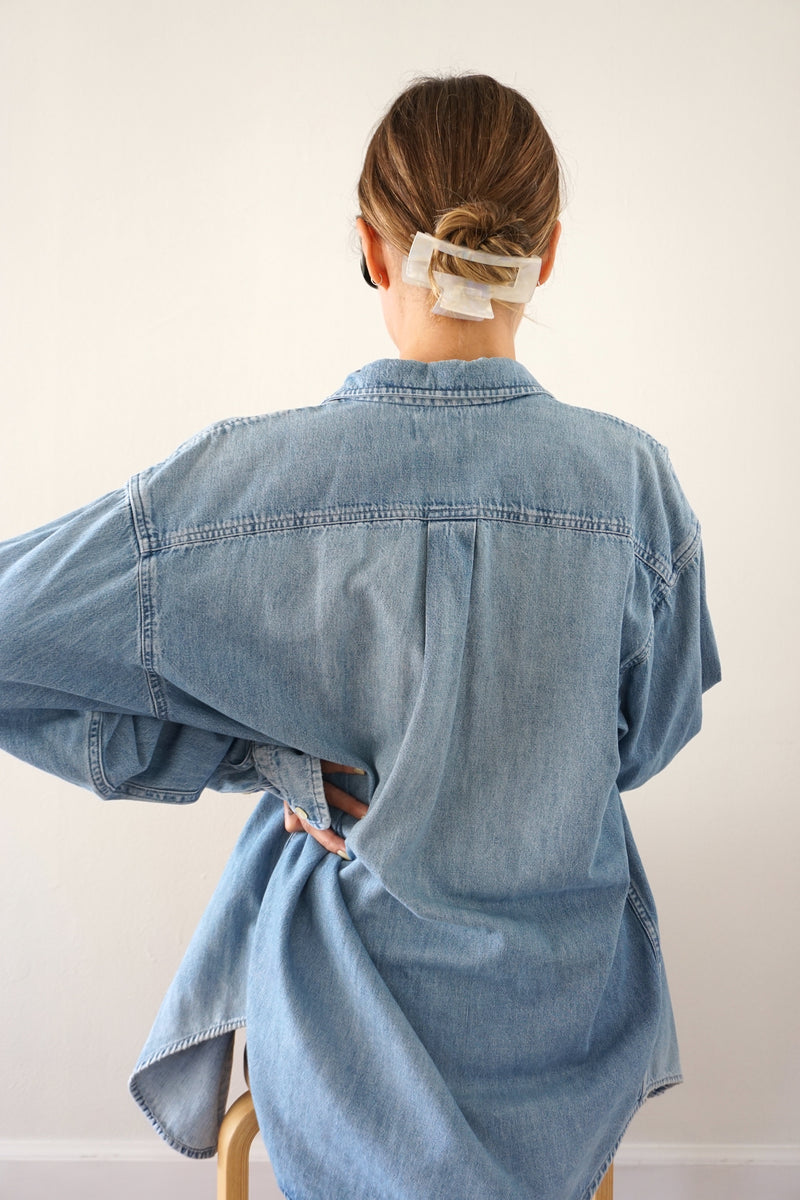 BUTTON UP - DENIM