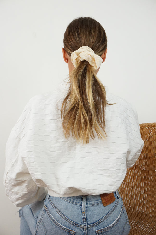 scrunchie - gingham