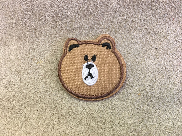 Patch - Brown Bear Head