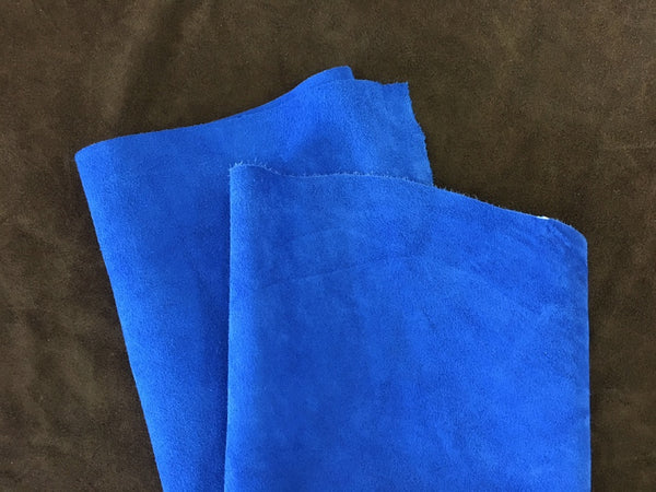Leather - Alaska Split Blue $3.95 Per SqFt