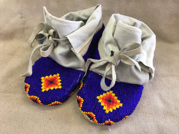 Beaded Set - Moccasins