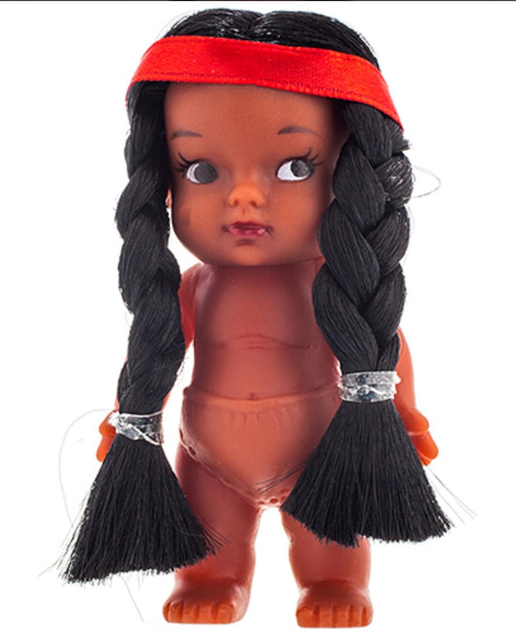 Doll 3.5 Inch Braided Hair