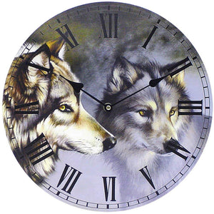 Clock - 2 Wolves