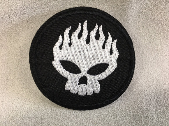 Patch - Flame Skull