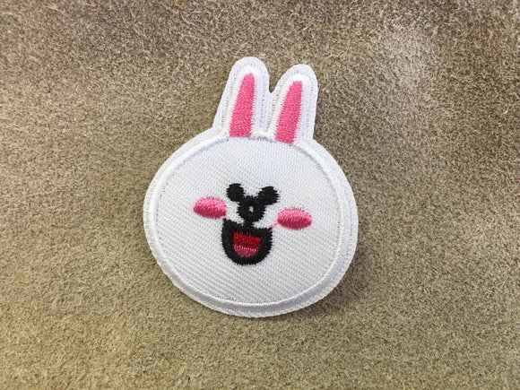 Patch - White Rabbit Head
