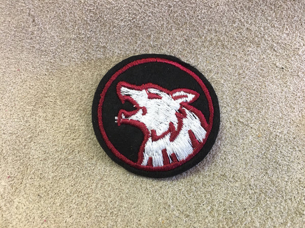 Patch - Wolf Red Circle