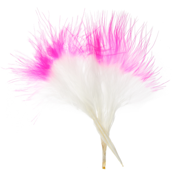 FEA Marabou Feathers - Two Color