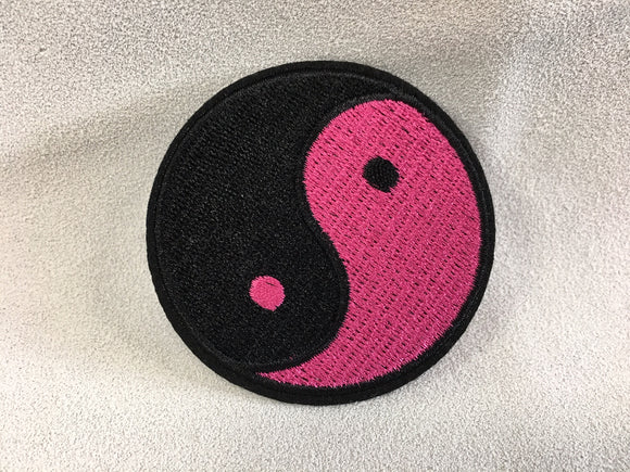 Patch - YinYang Pink