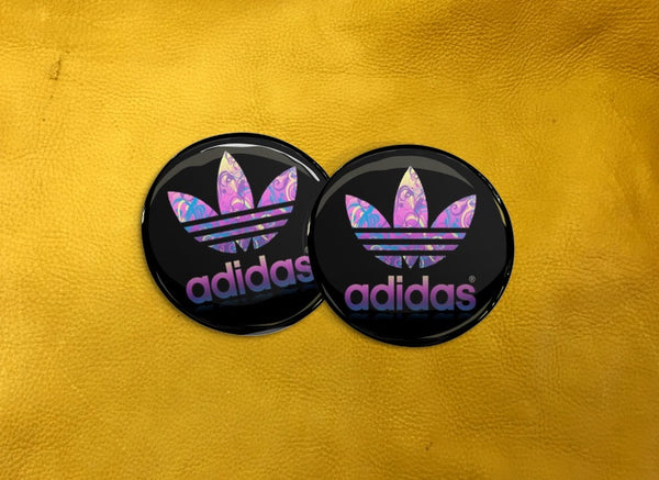 ECAB BR - Adidas - Pink Pattern on Black