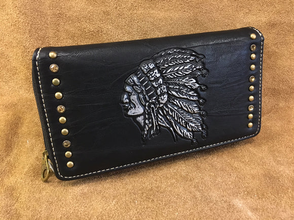 Leather Wallet 7 inch