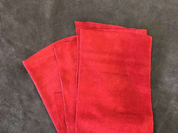 Leather - Alaska Split Red $3.95/SqFt