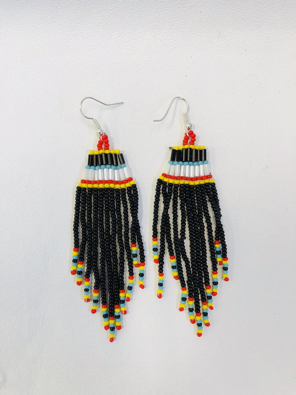 Beaded Earrings 8713-15