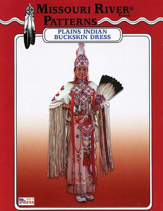BK - Pattern Book - Plains Indian Buckskin Dress