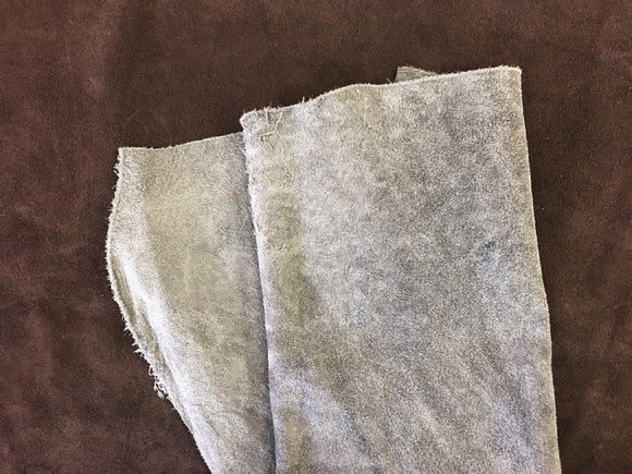 Leather - Alaska Split Grey $3.95/SqFt