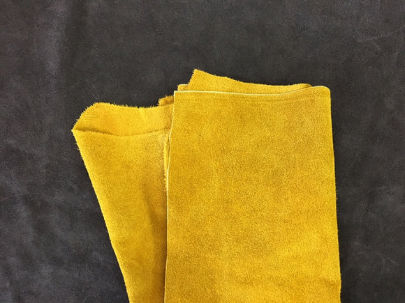Leather - Alaska Split Gold $3.95/SqFt