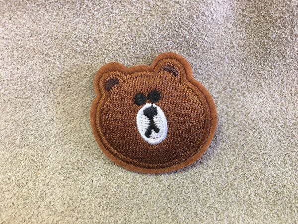 Patch - Md Brown Bear Head