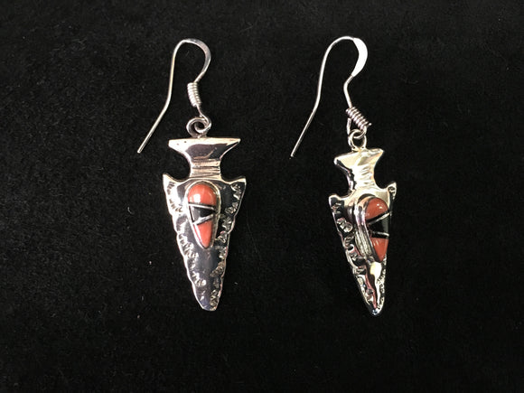 Sterling Silver Earrings - Arrow Head