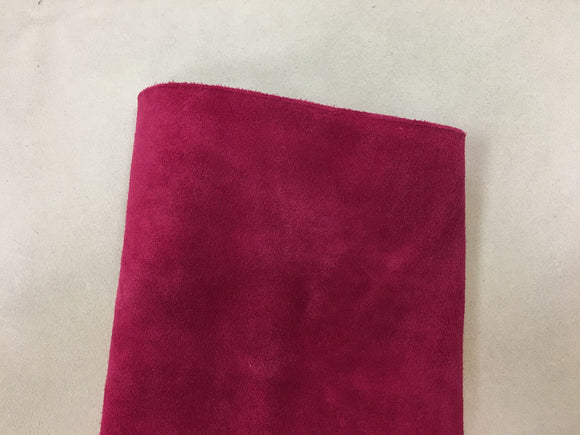 Leather - Alaska Split Hot Pink $3.95/SqFt