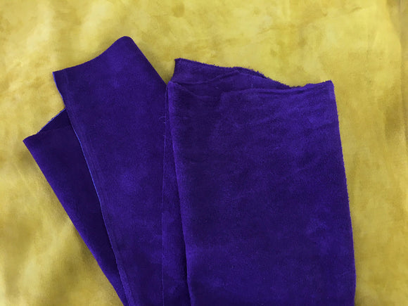 Leather - Alaska Split Purple $3.95/SqFt