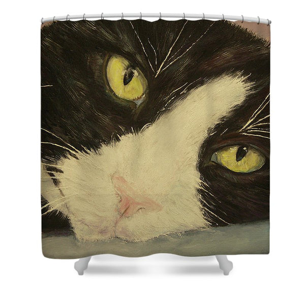 Sissi The Cat 1 - Shower Curtain