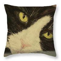 Sissi The Cat 1 - Throw Pillow