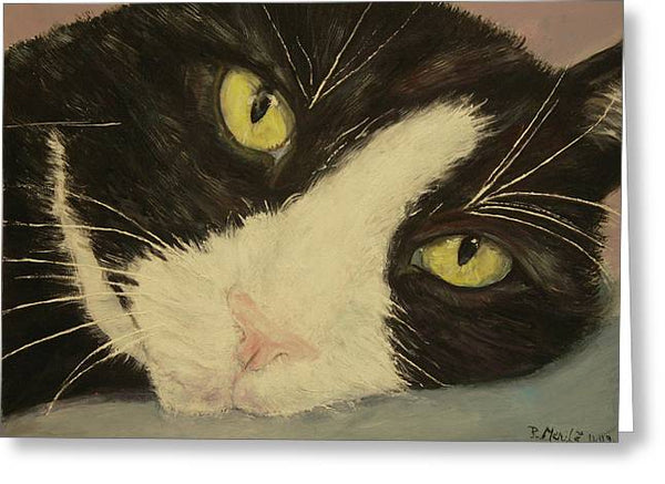 Sissi The Cat 1 - Greeting Card