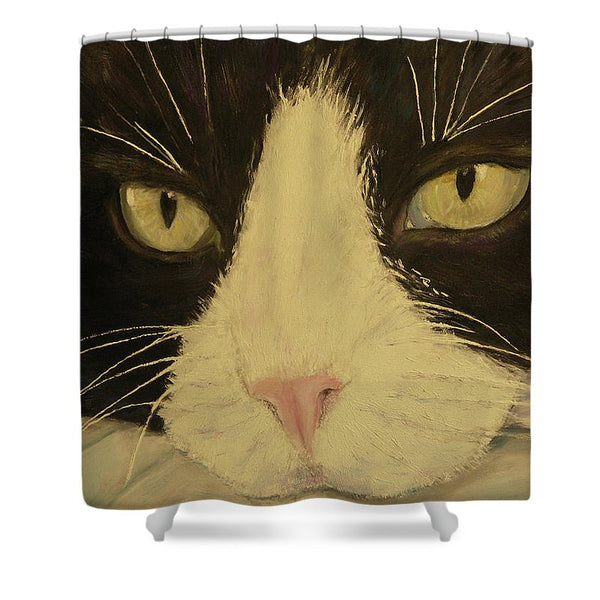 Sissi The Cat 3 - Shower Curtain