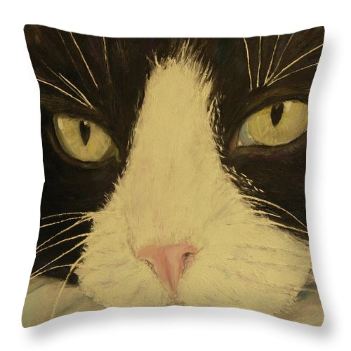 Sissi The Cat 3 - Throw Pillow