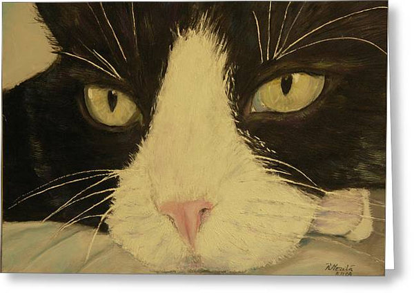 Sissi The Cat 3 - Greeting Card