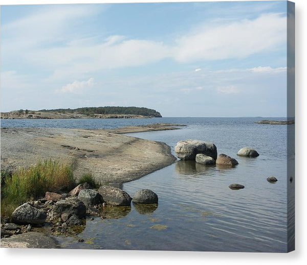 Archipelago 1, Hamina, Baltic Sea - Canvas Print
