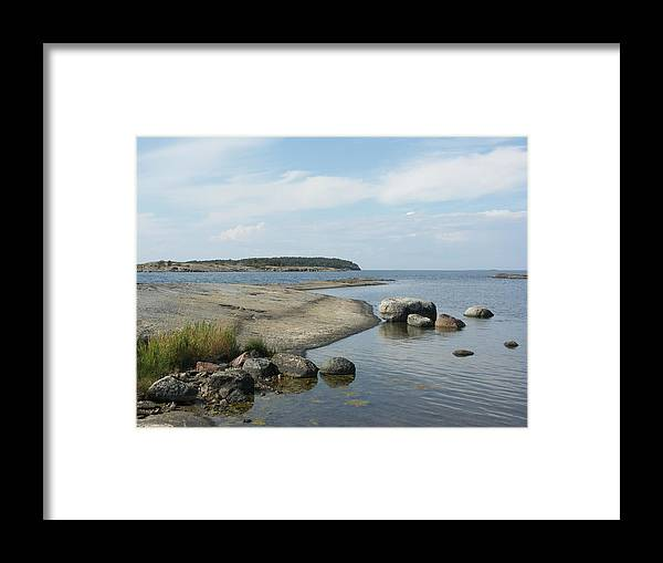 Archipelago 1, Hamina, Baltic Sea - Framed Print