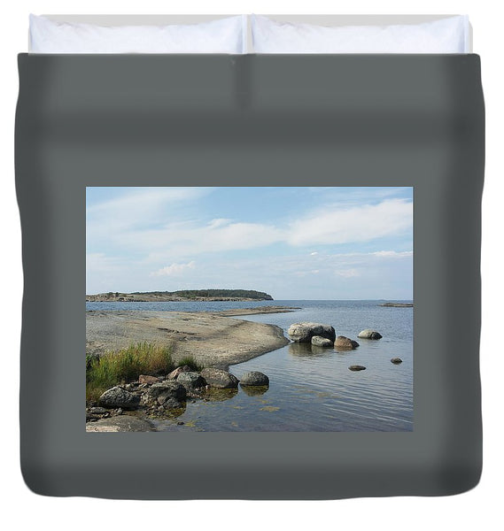 Archipelago 1, Hamina, Baltic Sea - Duvet Cover