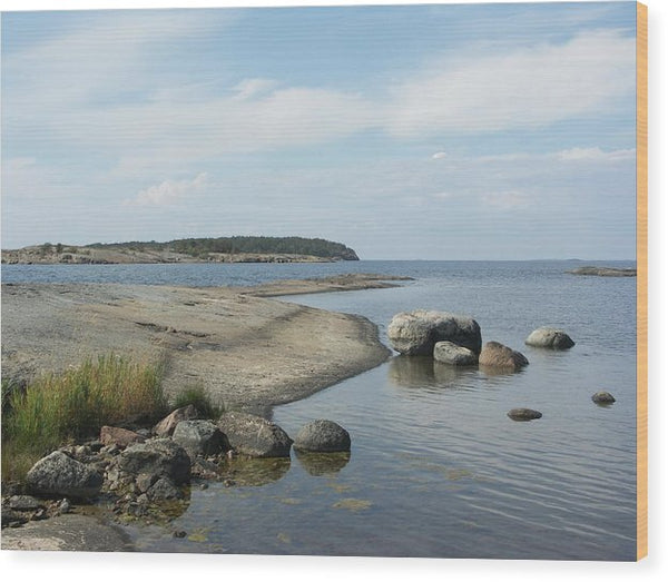 Archipelago 1, Hamina, Baltic Sea - Wood Print