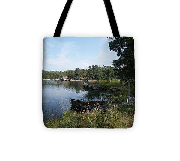 Archipelago 2, Hamina, Baltic Sea - Tote Bag