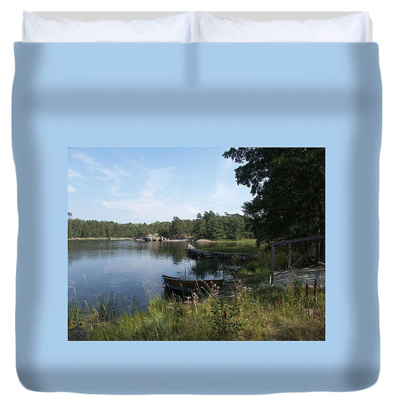 Archipelago 2, Hamina, Baltic Sea - Duvet Cover