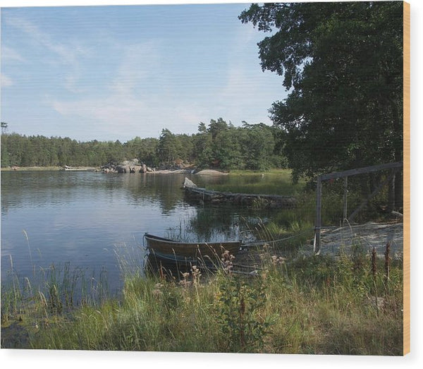 Archipelago 2, Hamina, Baltic Sea - Wood Print