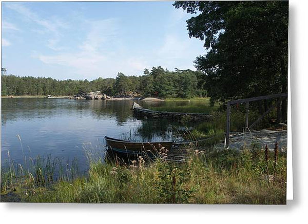 Archipelago 2, Hamina, Baltic Sea - Greeting Card